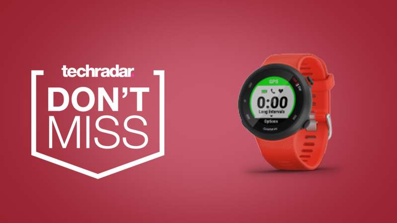 Get a Garmin Forerunner 45 smartwatch for cheap in this great Black Friday deal